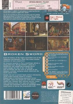 fotografia do artigo Broken Sword (Coleção Sold Out)