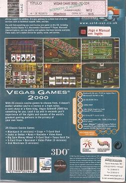 fotografia do artigo Vegas Games 2000 (Coleção Sold Out)