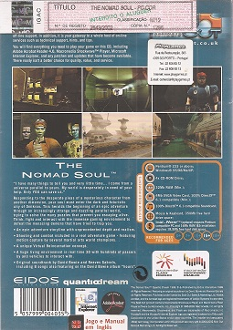 fotografia do artigo The Nomad Soul (Coleção Sold Out)