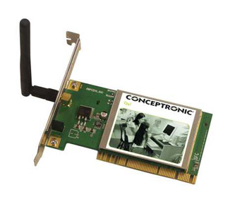Placa de rede PCI Wireless G Conceptronic Tipo L em saldo, rebaixa total!!!
