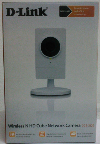 Câmara IP D-Link sem fios DCS-2130 Videovigilância em saldo, rebaixa total!!!