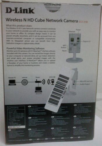 fotografia do artigo Câmara IP D-Link sem fios DCS-2130 Videovigilância