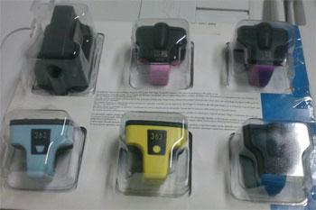 Conjunto de tinteiros HP 363 em saldo, rebaixa total!!!