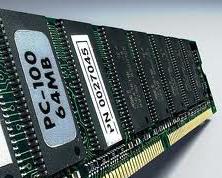 fotografia do artigo Memória SDRAM 64MB PC100 (100 MHz)