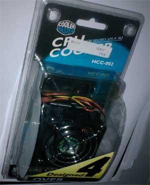 Dissipador cooler master HCC-002 para socket 370.A 462 em saldo, rebaixa total!!!