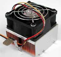 fotografia do artigo Dissipador cooler master HCC-002 para socket 370.A 462