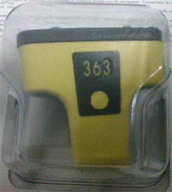 foto do item Conjunto de tinteiros HP 363