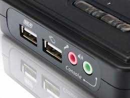fotografia do artigo KVM Switch USB Conceptronic com 2 portas