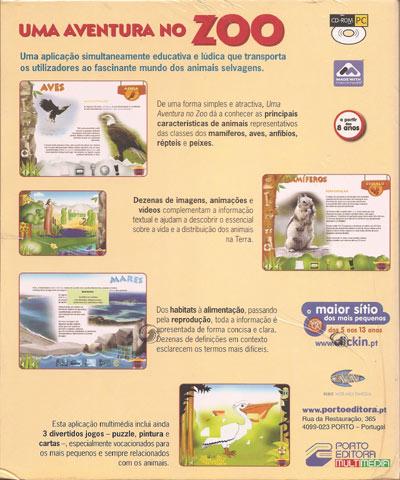 fotografia do artigo Uma Aventura no Zoo (PC CD-ROM)
