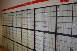Caixas de apartados dos correios
