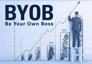 Torne-se no seu próprio chefe em 4 passos