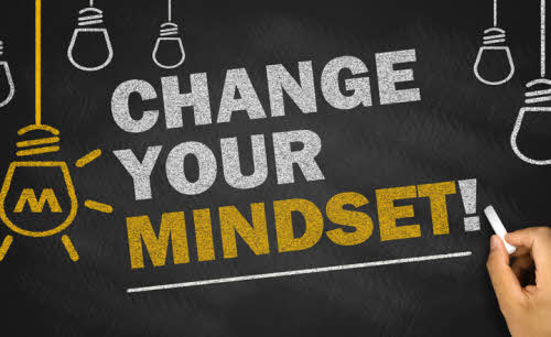 mude o seu mindset
