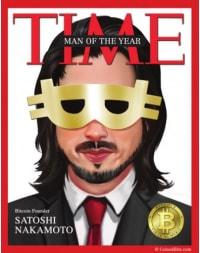 Satoshi Nakamoto - Homem do Ano da revista Time