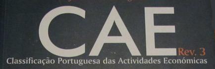 Encontre o CAE da sua empresa