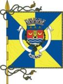 bandeira do município de Alcobaça