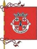 bandeira do município na Batalha