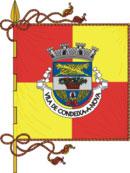 bandeira do município de Condeixa-a-Nova