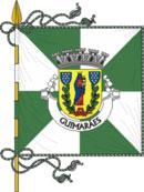 bandeira do município de Guimarães