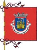bandeira do município no Marvão