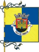 bandeira do município de Óbidos