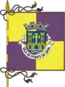 bandeira do município de Ponte de Lima