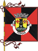 bandeira do município de Tomar