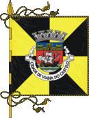 bandeira do município de Viana do Castelo
