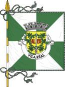 bandeira do município de Vila Real