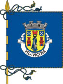 bandeira do município de Vila Viçosa
