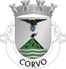 Brasão do município de Corvo