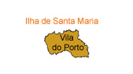 mapa do Ilha de Santa Maria