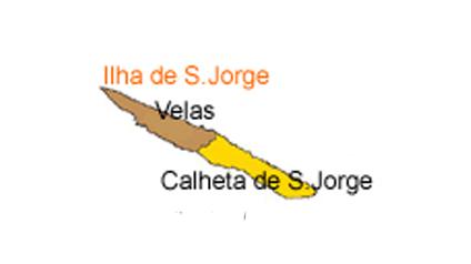 mapa do Ilha de São Jorge