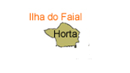 mapa do Ilha do Faial