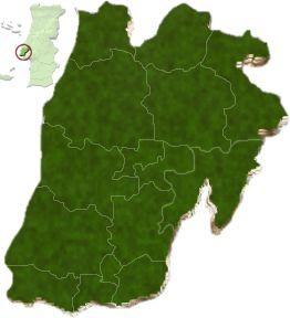 mapa do distrito de Lisboa