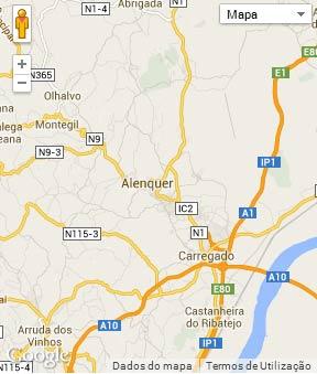 mapa concelho alenquer Concelho de Alenquer mapa concelho alenquer
