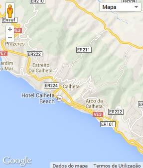 Mapa do município de Calheta (Madeira)