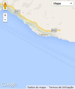 Mapa do município de Calheta (São Jorge)