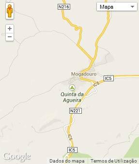 Mapa do município de Mogadouro