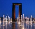 Estátua da Liberdade - Monumento ao 25 de Abril - Viana do Castelo detalhes