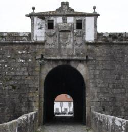 Forte de Santiago da Barra em Viana do Castelo detalhes