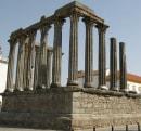 Templo Romano de Évora detalhes